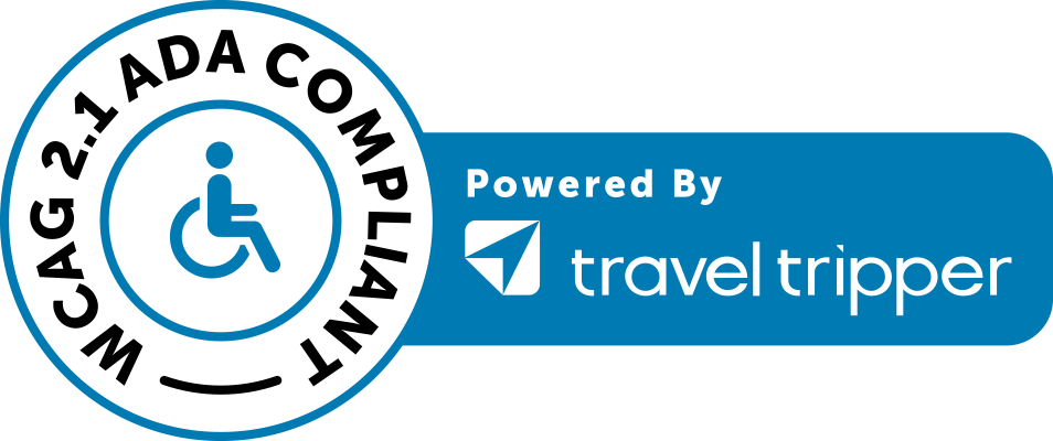 WCAG 2.1 ADA Compliant - Powered by TravelTripper