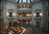 The interior of the National Museum of Natural History located near the Row NYC hotel