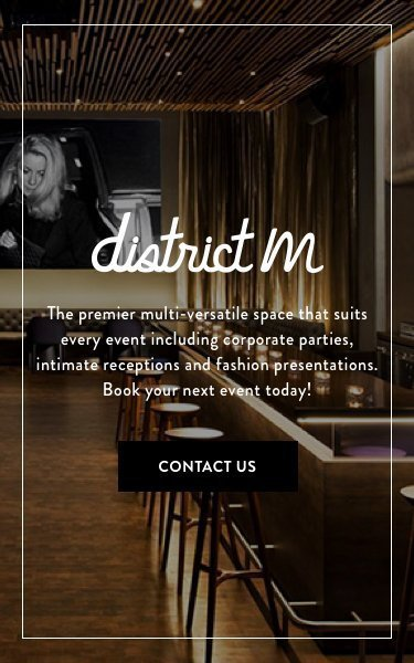 District M Restaurant - Contact Us